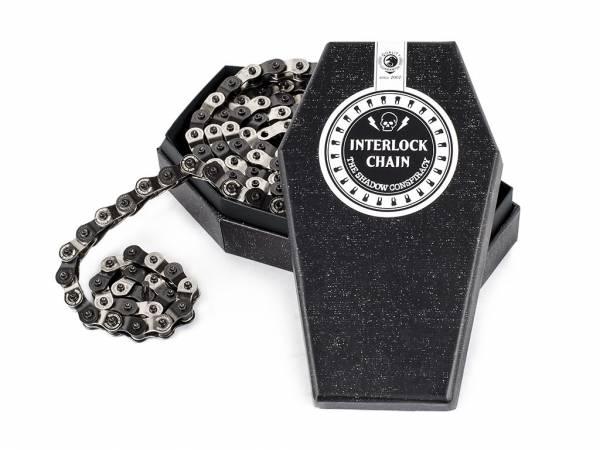 SHADOW Interlock Halflink Chain Black/Silver