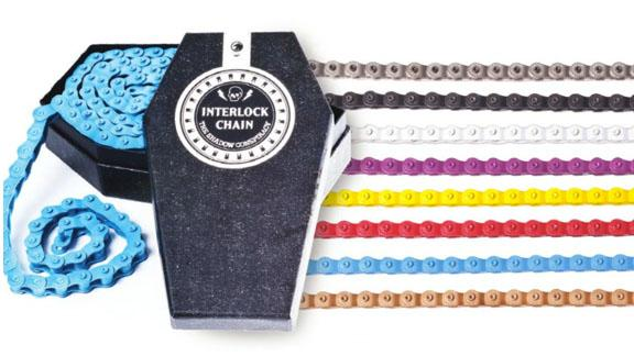 "SHADOW CONSPIRACY INTERLOCK CHAIN 1/2 x 1/8"" Colors"