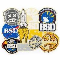 BSD STICKERS 2017 DESIGNS 10-PACK