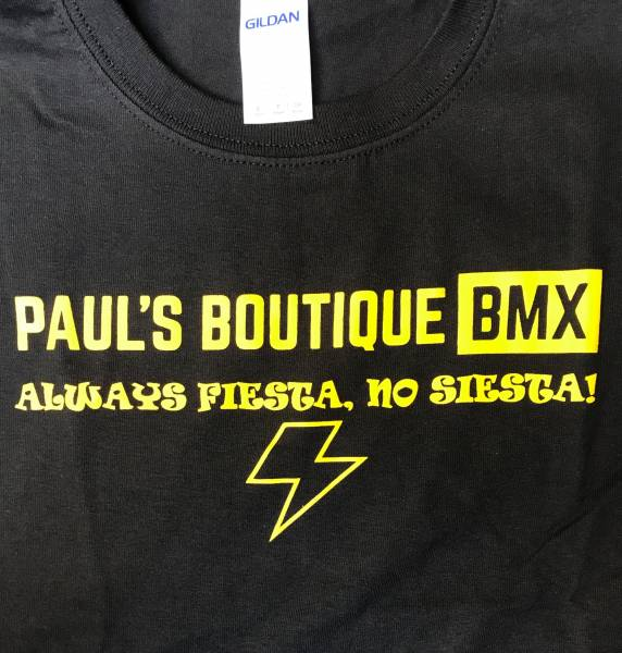 "PAULSBOUTIQUEBMX ""FIESTA"" T-SHIRT KIDS S ONLY Black"