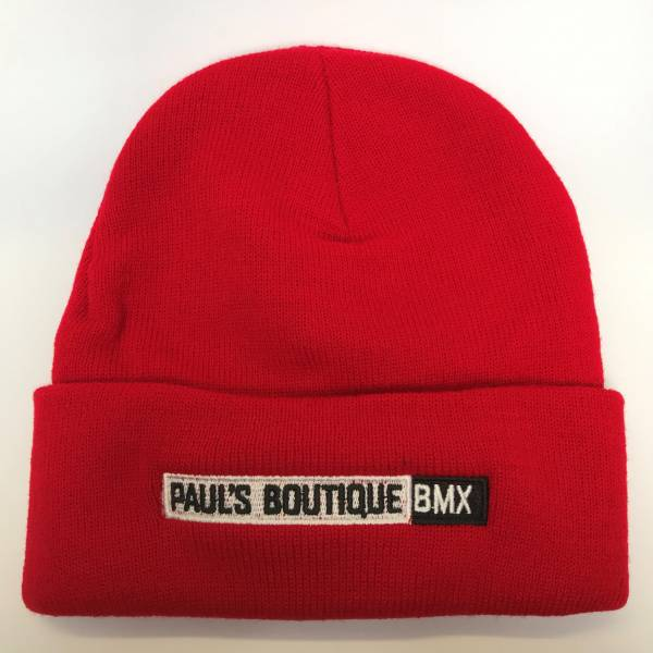 PAULSBOUTIQUEBMX BEANIE Red