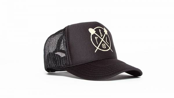 FIT HAT TRUCKER TRL Black