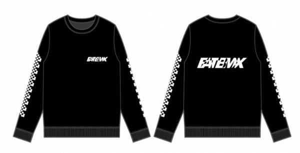 "FAT BMX LONGSLEEVE ""FAST 1-2"" Black"