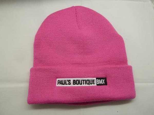 PAULSBOUTIQUEBMX BEANIE Pink