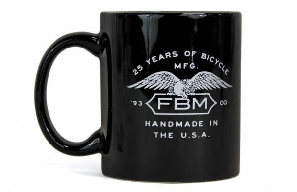 FBM FAT BALD MEN COFFEE MUG Gloss Black