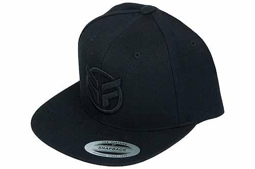 FEDERAL HAT SNAPBACK Black/Black Logo