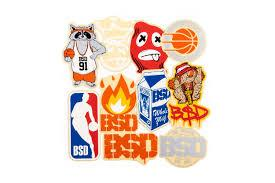 BSD STICKERS 2018 DESIGNS 10-PACK