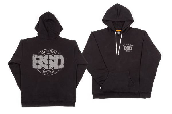 BSD HOODED ZIP SWEATSHIRT