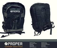 PROPER BACK PAK Black