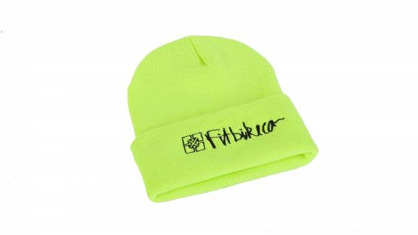 FIT BEANIE HAZARD Neon Green