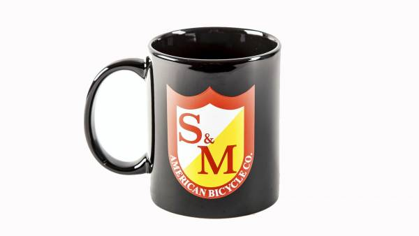 S&M COFFEE MUG Gloss Black