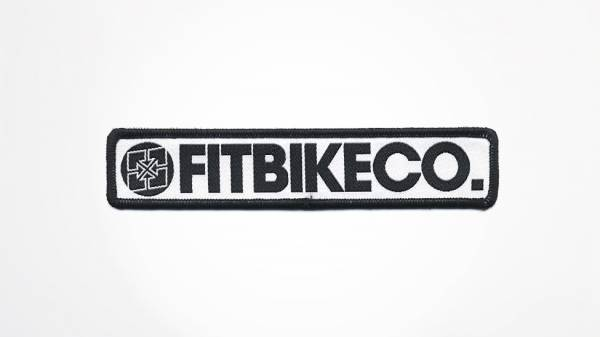 FIT PATCH LONG FIT BIKE CO Black/White
