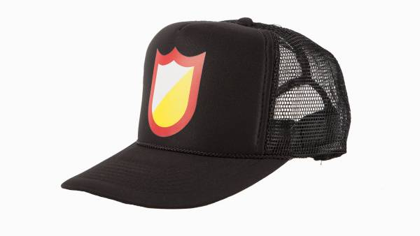 S&M HAT MESHFIELD TRUCKER Black