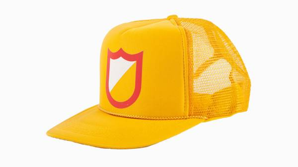 S&M HAT MESHFIELD TRUCKER Yellow/Gold