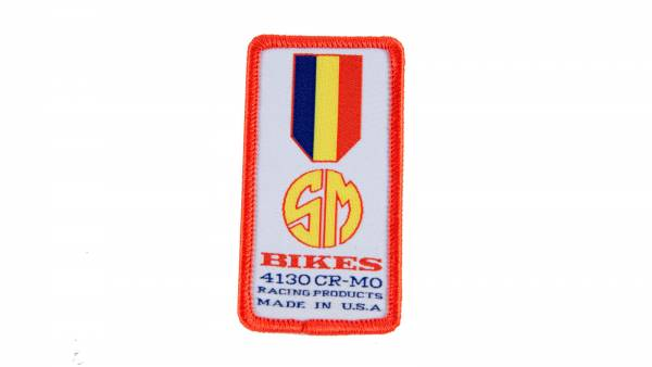 S&M PATCH GOLD MEDAL