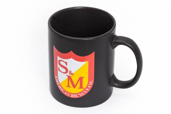 S&M COFFEE MUG Matt Black