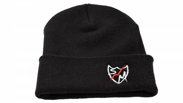 S&M BEANIE PEAK SHIELD Black