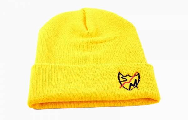 S&M BEANIE PEAK SHIELD Yellow