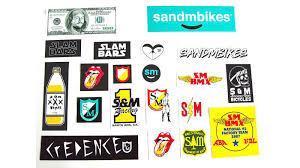 S&M STICKER 20 STICKERS
