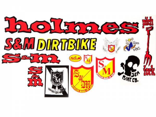 S&M STICKER PACK 13 STICKERS 30 YEARS