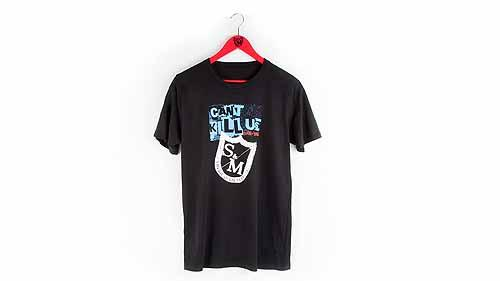 S&M T-SHIRT CAN'T KILL US Black