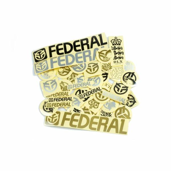 FEDERAL STICKER PACK 39pc