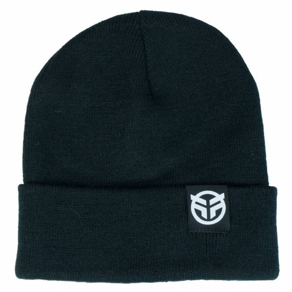 FEDERAL LOGO BEANIE Black