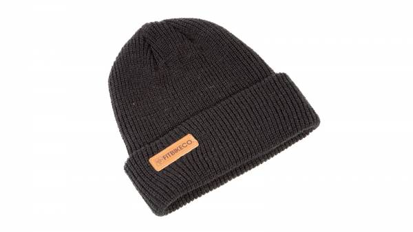 FIT BEANIE BRANDED Black