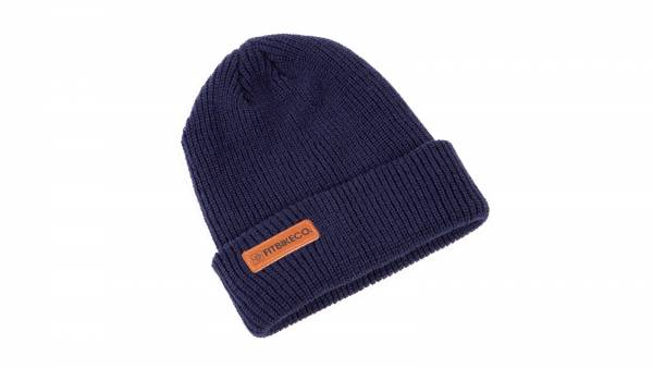 FIT BEANIE BRANDED Blue