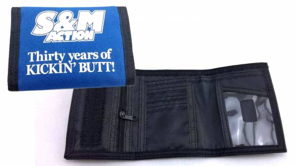 S&M WALLET ACTION 30 YEAR Blue
