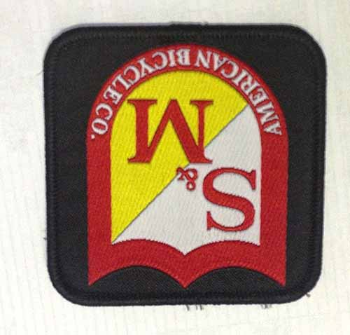S&M PATCH SQUARE SHIELD