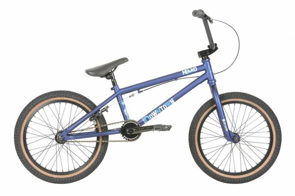 "2020 HARO DOWNTOWN 18"" BIKE Matte Blue (STOCK)"