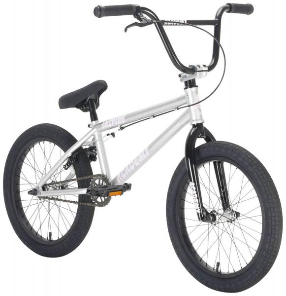 "ACADEMY BMX INSPIRE 18"" COMPLETE BIKE Silver"