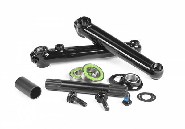 SALT PLUS CRANKS 175mm GROOVE Black