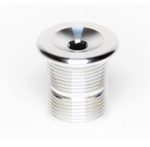 S&M FORK TOP CAP ALLOY M24 x 1.50 Silver