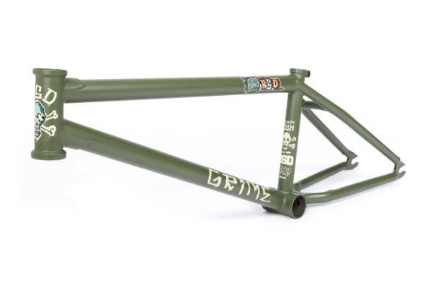 """BSD FRAME 21.0""""TT GRIME Military Green NEW!"""