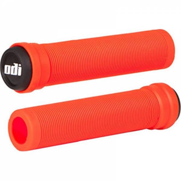 ODI GRIPS LONGNECK SOFT FLANGELESS Fire Red