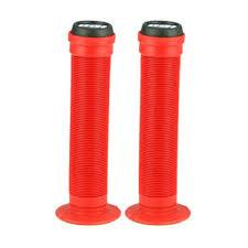 ODI GRIPS ST LONGNECKS FLANGE Bright Red