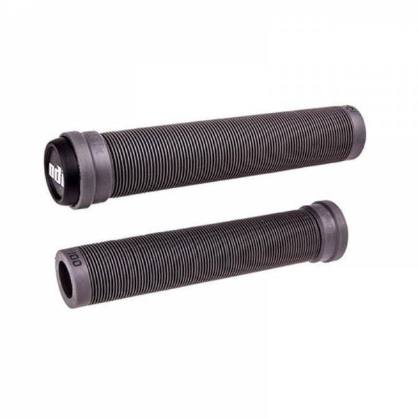 ODI GRIPS SLX FLANGELESS 160MM LONG GRIPS Graphite Grey