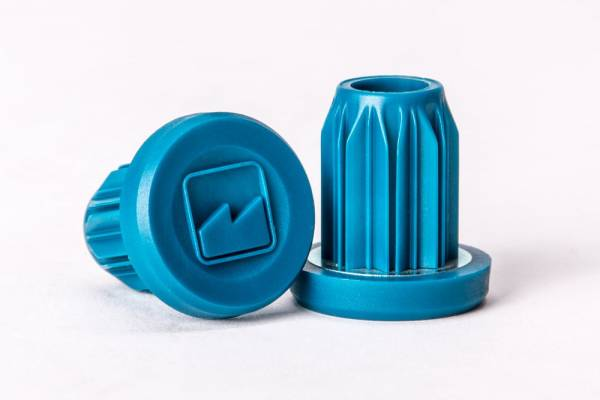 MERRITT BAR ENDS PLASTIC Blue