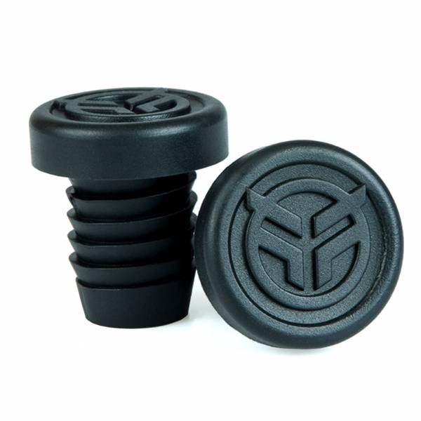 FEDERAL BAR ENDS RUBBER INCL STEEL RING Black