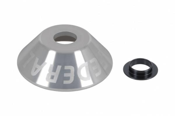 FEDERAL HUB GUARD REAR ALUMINIUM 14mm Silver