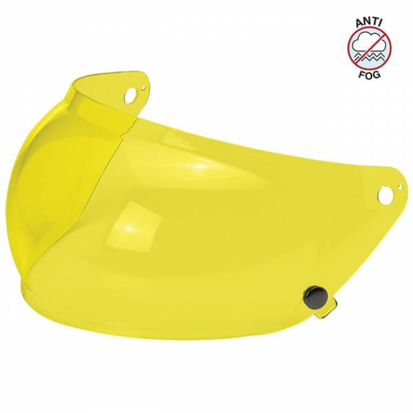 BILTWELL GRINGO S BUBBLE SHIELD Yellow