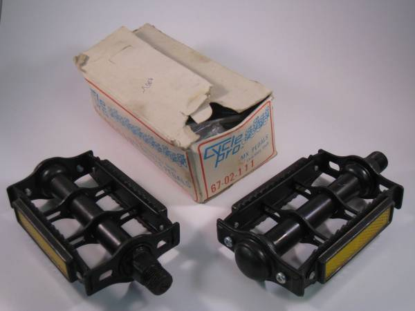 "PEDALS CYCLE PRO RAT TRAP 9/16"" Black"