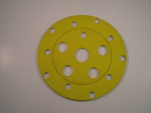 CHAIN WHEEL SPIDER DISC Yellow