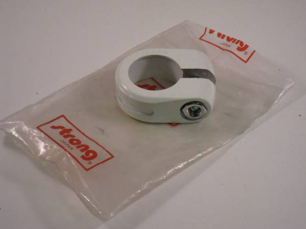 "SEAT POST CLAMP FOR 7/8"" POSTS White"