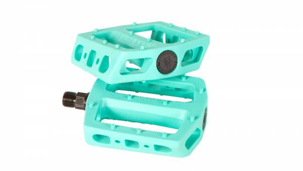 "FIT PEDALS MAC PC 9/16"" TIFFANY BLUE"