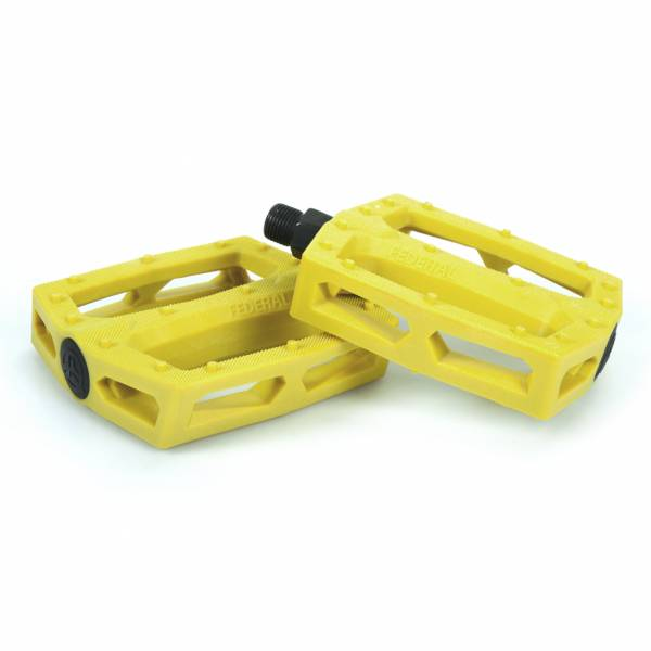 "FEDERAL PEDALS PC COMMAND 9/16"" Yellow"