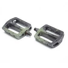 "FIT PEDALS MAC PC 9/16"" Black/Green"