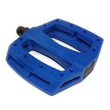 """MERRITT PEDALS P1 PLASTIC 9/16"""" Blue"""